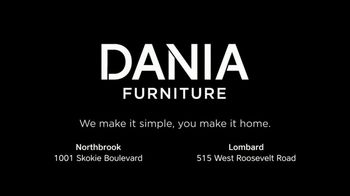 Dania Furniture TV Spot, '$100 Off Every $600' - Thumbnail 7