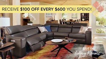 Dania Furniture TV Spot, '$100 Off Every $600' - Thumbnail 2