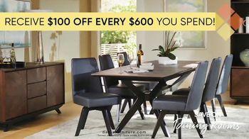 Dania Furniture TV Spot, '$100 Off Every $600' - Thumbnail 3