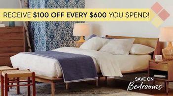 Dania Furniture TV Spot, '$100 Off Every $600' - Thumbnail 4