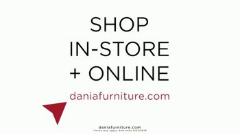 Dania Furniture TV Spot, '$100 Off Every $600' - Thumbnail 6
