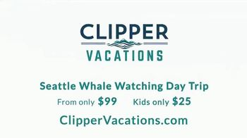 Clipper Vacations Seattle Whale Watching Day Trip TV Spot, 'Experience the Northwest' - Thumbnail 10