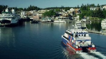 Clipper Vacations Seattle Whale Watching Day Trip TV Spot, 'Experience the Northwest' - Thumbnail 8