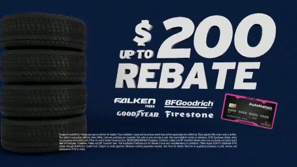 AutoNation TV Commercial, 'Drive Safe for Less: New Tires'