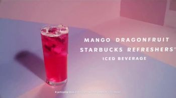 Starbucks Mango Dragonfruit Refreshers TV Spot, 'What's Absodragonfruitly Ahhhmazing?' Song by Young Franco - Thumbnail 9
