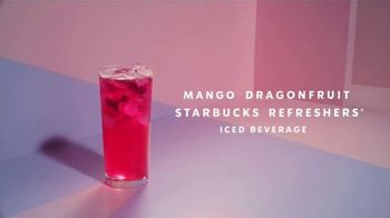 Starbucks Mango Dragonfruit Refreshers TV Spot, 'What's Absodragonfruitly Ahhhmazing?' Song by Young Franco