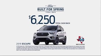 Ford Built for Spring Sales Event TV Spot, 'More SUVs on the Road' [T2] - Thumbnail 9