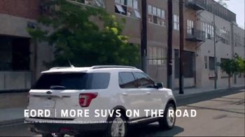 Ford Built for Spring Sales Event TV Spot, 'More SUVs on the Road' [T2] - Thumbnail 5