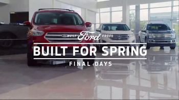 Ford Built for Spring Sales Event TV Spot, 'More SUVs on the Road' [T2] - Thumbnail 8