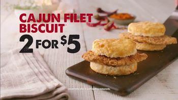Bojangles' Cajun Filet Biscuit TV Spot, 'Two for Five' - Thumbnail 6