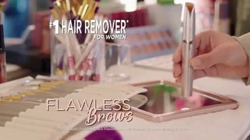 Flawless Brows TV Spot, 'Erase Unwanted Hairs' - Thumbnail 2