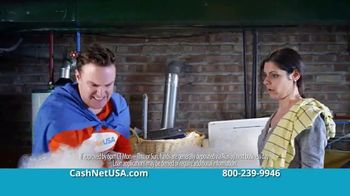 CashNetUSA TV Spot, 'CashNetUSA.com Man Vs. the Suds'