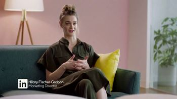 LinkedIn TV Spot, 'Improving People's Lives: Hilary Fischer-Groban'