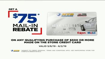 National Tire & Battery TV Spot, 'Buy Three, Get One Free: Mail-In Rebate and No Interest' - Thumbnail 8