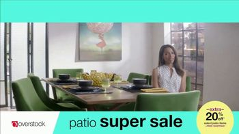 Overstock.com Patio Super Sale TV Spot, 'Table Runner' - Thumbnail 4