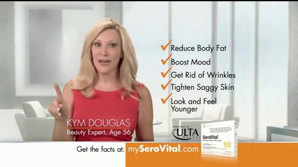 SeroVital HGH TV Commercial, 'Interested?' Featuring Kym Douglas