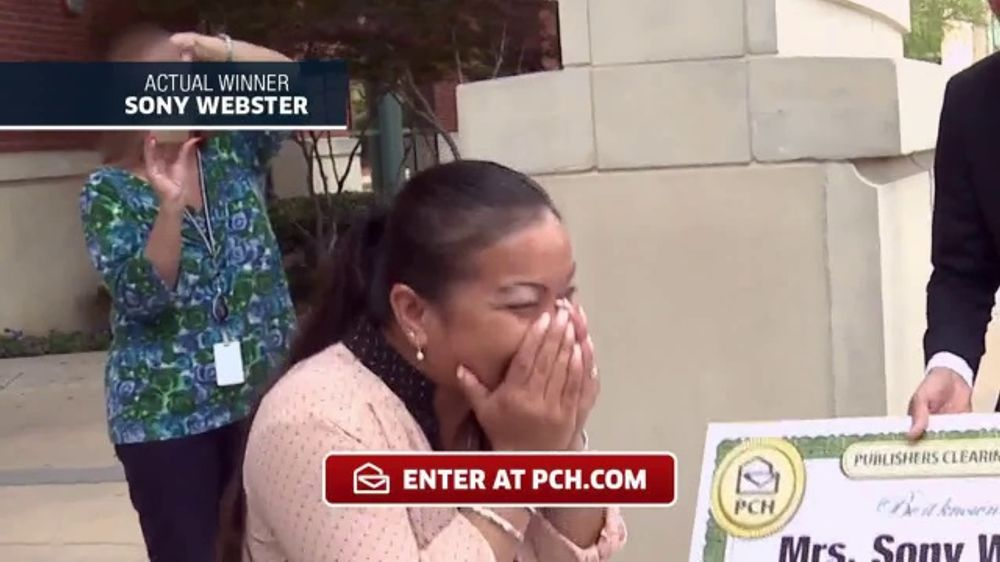 Publishers Clearing House TV Commercial, 'Actual Winner:Sony Webster' -  Video