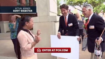 Publishers Clearing House TV Spot, 'Actual Winner:Sony Webster' - Thumbnail 2