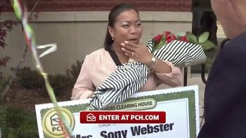 Publishers Clearing House TV Spot, 'Actual Winner:Sony Webster' - Thumbnail 6