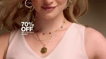 Macy's Jewelry Sale TV Spot, 'Wonder of Love: Earrings and Chains' - Thumbnail 8