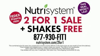 Nutrisystem 2 for 1 Sale TV Spot, 'Free Month of Food' Featuring Marie Osmond - Thumbnail 8