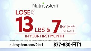 Nutrisystem 2 for 1 Sale TV Spot, 'Free Month of Food' Featuring Marie Osmond - Thumbnail 3