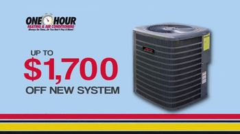 One Hour Heating & Air Conditioning TV Spot, 'Pollen Buster Package' - Thumbnail 3