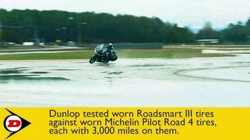 Dunlop Motorcycle Tires Roadsmart III TV Spot, 'Less Wear, More Where' - Thumbnail 4