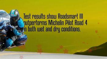 Dunlop Motorcycle Tires Roadsmart III TV Spot, 'Less Wear, More Where' - Thumbnail 5