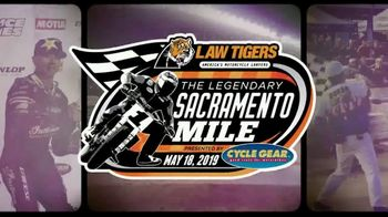 American Flat Track TV Spot, '2019 Law Tigers Sacramento Mile'