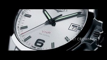 Longines Conquest V.H.P. TV Spot, 'Precision for Performance' - Thumbnail 4