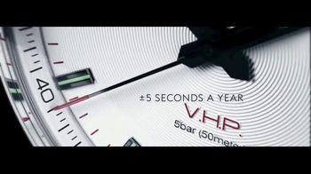 Longines Conquest V.H.P. TV Spot, 'Precision for Performance' - Thumbnail 5