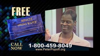 Peter Popoff Ministries TV Spot, 'Miracle Spring Water' - Thumbnail 2