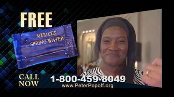 Peter Popoff Ministries TV Spot, 'Miracle Spring Water' - Thumbnail 5