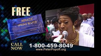 Peter Popoff Ministries TV Spot, 'Miracle Spring Water' - Thumbnail 8