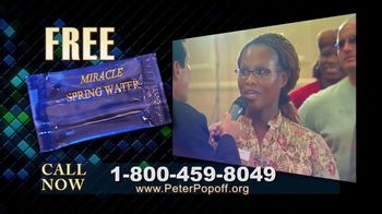 Peter Popoff Ministries TV Spot, 'Miracle Spring Water' - Thumbnail 9