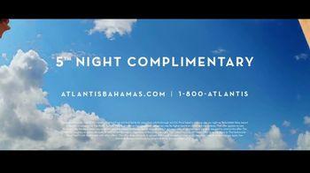 Atlantis TV Spot, 'True Bahamian Spirit: 5th Night Complimentary' - Thumbnail 8