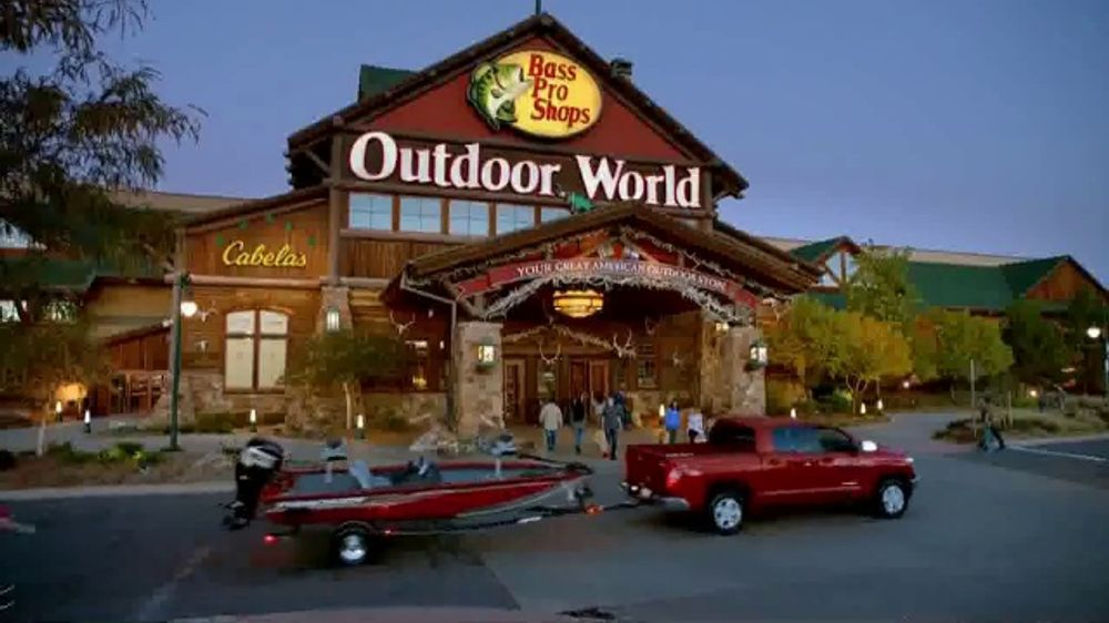 Bass Pro Shops Go Outdoors Event and Sale TV Commercial, 'Trilene Fishing Line and Spinning Combo'