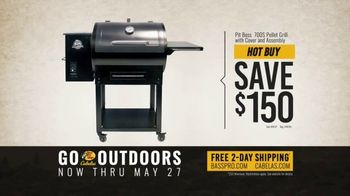 Bass Pro Shops Go Outdoors Event and Sale TV Spot, 'Camp Chair and Grill' - Thumbnail 9