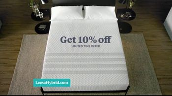 Leesa Hybrid Mattress TV Spot, 'Time to Switch Off: 10 Percent Off' - Thumbnail 8