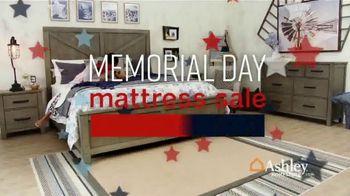 Ashley HomeStore Memorial Day Mattress Sale TV Spot, 'Any Size Mattress' Song by Midnight Riot - Thumbnail 1