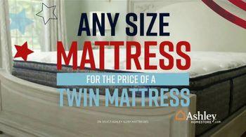 Ashley HomeStore Memorial Day Mattress Sale TV Spot, 'Any Size Mattress' Song by Midnight Riot - Thumbnail 3