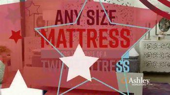 Ashley HomeStore Memorial Day Mattress Sale TV Spot, 'Any Size Mattress' Song by Midnight Riot - Thumbnail 5