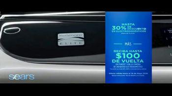 Sears TV Spot, 'Hasta 30 por ciento de descuento en electrodomésticos' [Spanish] - Thumbnail 7