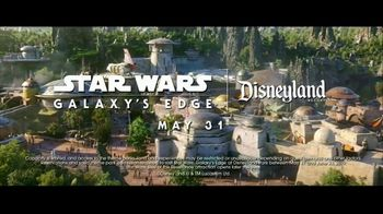 Disneyland TV Spot, 'Disney Channel: Star Wars: Galaxy's Edge' Featuring Issac Ryan Brown, Sky Katz