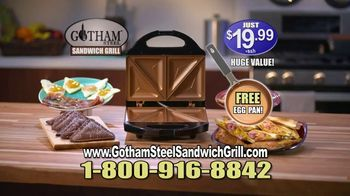 Gotham Steel Sandwich Grill TV Spot, 'Perfectly Cooked' Featuring Daniel Green - Thumbnail 9