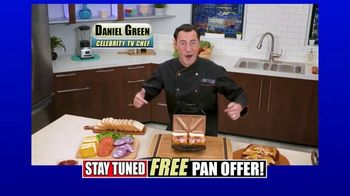 Gotham Steel Sandwich Grill TV Spot, 'Perfectly Cooked' Featuring Daniel Green - Thumbnail 2