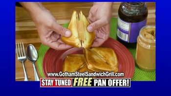 Gotham Steel Sandwich Grill TV Spot, 'Perfectly Cooked' Featuring Daniel Green - Thumbnail 4