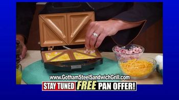 Gotham Steel Sandwich Grill TV Spot, 'Perfectly Cooked' Featuring Daniel Green - Thumbnail 6