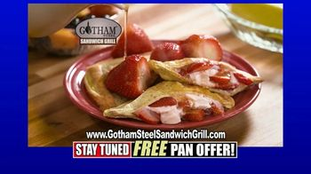 Gotham Steel Sandwich Grill TV Spot, 'Perfectly Cooked' Featuring Daniel Green - Thumbnail 7